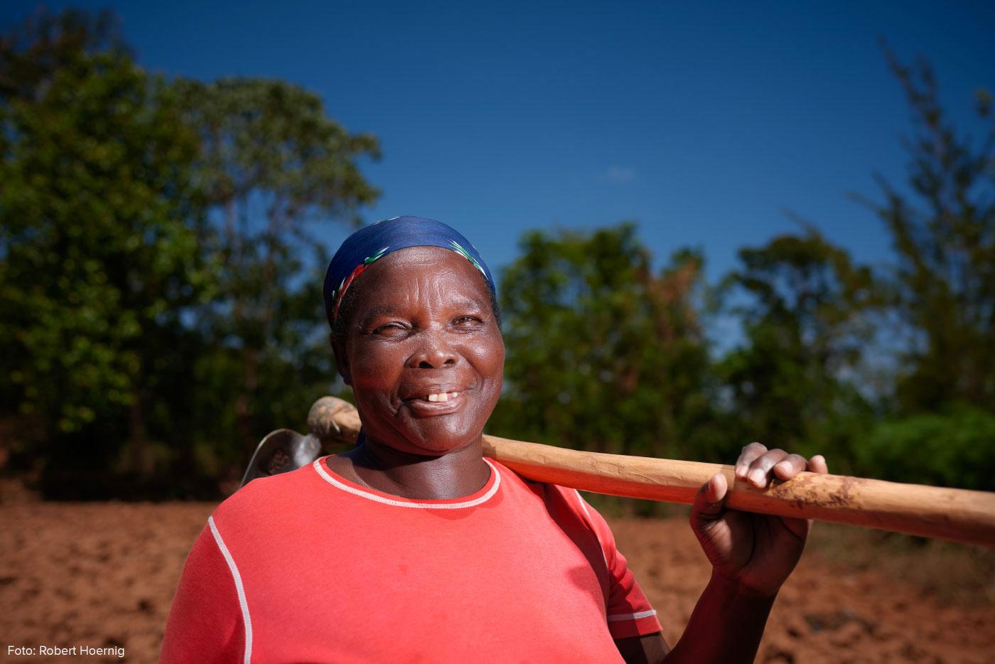 Francisca Adhiambo: die Mutter der Dorfgemeinschaft